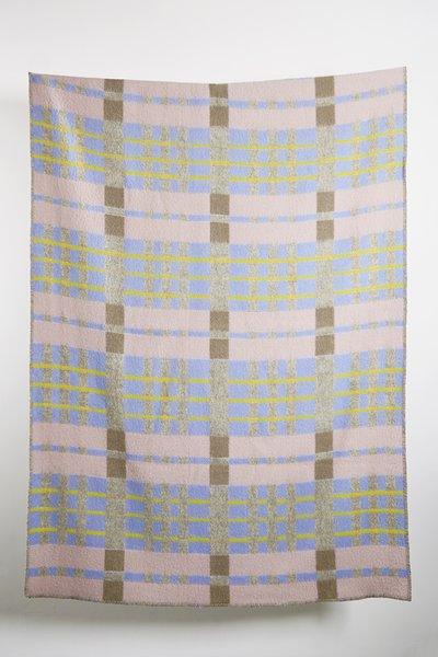 """""""Bauhaused 4"""" Wool Blanket"""