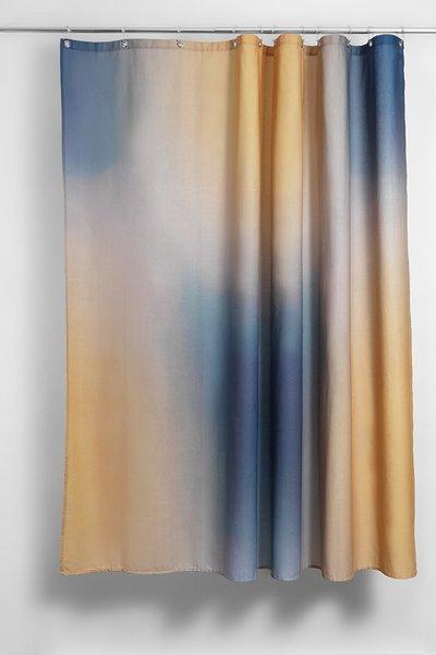 """Limelight"" Artist Cotton Shower Curtain ( Waterproof ) by Celine Cornu"