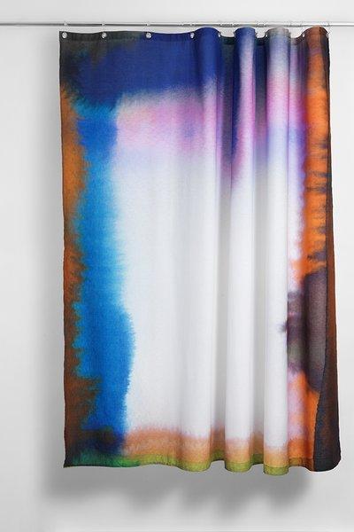 """Heep"" Artist Cotton Shower Curtain ( Waterproof ) by Julia Heuer"