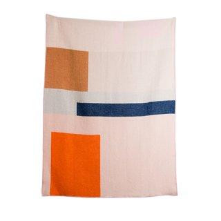 """""""Bauhaused 2"""" Wool Blanket"""
