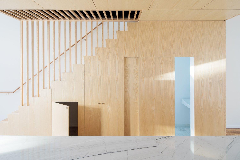 Wayne Street Row House by Jeff Jordan Architects