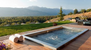 10 Modern Hot Tubs - Photo 8 of 10 - Stainless Steel Drop In Hot Tub by Diamond Spas
