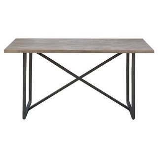 Target Wynnefield Mixed Material Trestle Dining Table ($207)