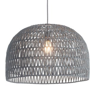 dCOR Design Paradise 1 Light Bowl Pendant ($175)