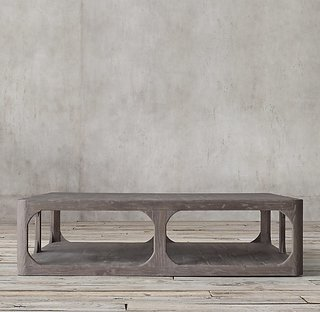 Restoration Hardware Martens Square Coffee Table ($2150)