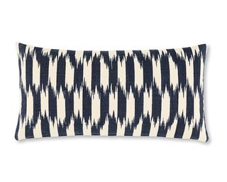 Williams-Sonoma Home Ikat Stripe Canvas Pillow Cover ($20)