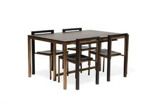 Stephen Kenn Inheritance Expandable Dining Set ($7000)