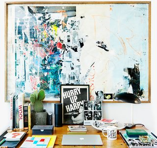 Artist in Residence: Inside Cold War Kids' Matt Maust's L.A. Studio - Photo 14 of 28 -