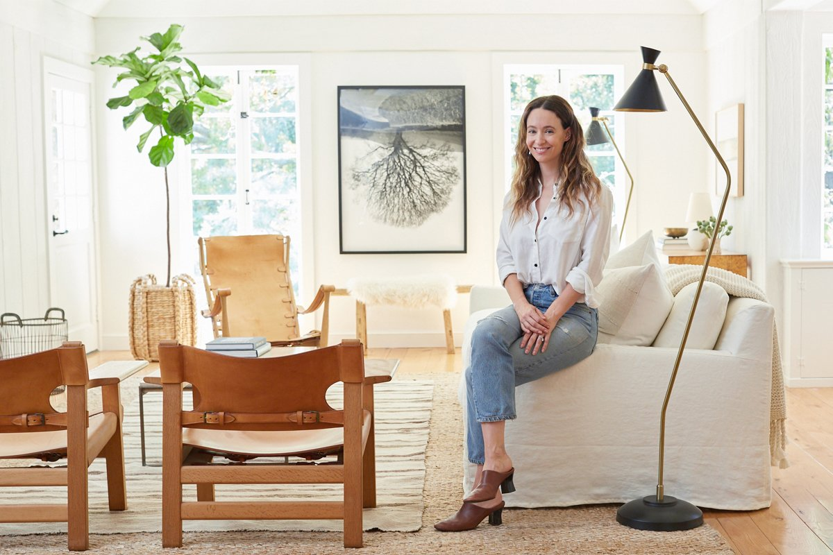 Photo 2 of 21 in Inside Jenni Kayne's Stunning Living Room Makeover