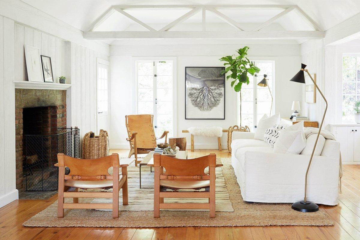 Photo 3 of 21 in Inside Jenni Kayne's Stunning Living Room Makeover
