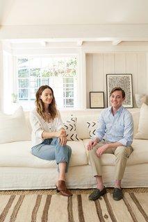 Inside Jenni Kayne's Stunning Living Room Makeover - Photo 7 of 20 -