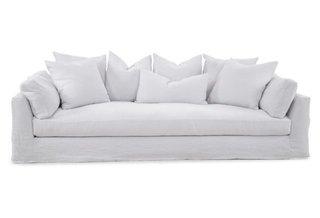 "One Kings Lane ""Banyan Slipcover Sofa"" ($4099)"