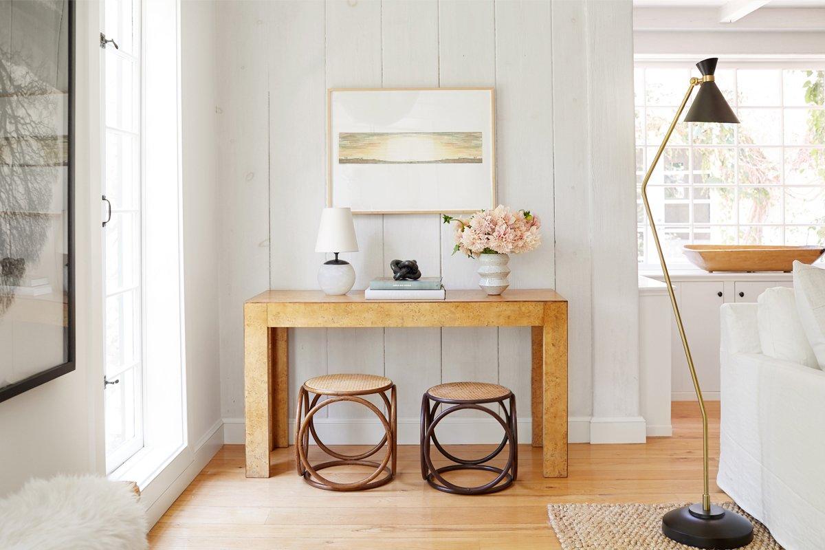 Photo 11 of 21 in Inside Jenni Kayne's Stunning Living Room Makeover
