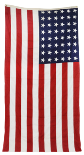 "Chairish ""Vintage Extra Large Star American Flag"" ($295)"