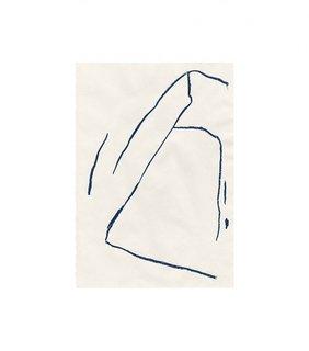 "Rosemarie Auberson ""Lines 23 Painting"" ($320)"