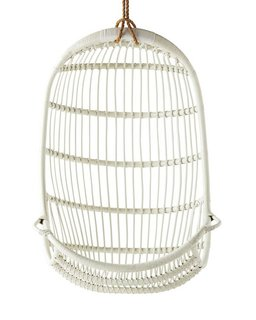 Serena & Lily Hanging Rattan Chair ($498)
