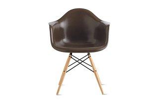"Eames ""Molded Fiberglass Dowel-Leg Armchair"" ($649)"