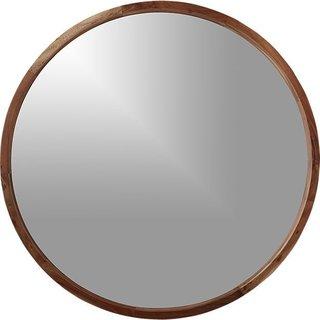 "CB2 ""Acacia Wood Mirror"", $299"