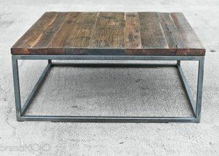 "Brand Mojo Interiors ""Hardwood Square Coffee Table"", $1,719"