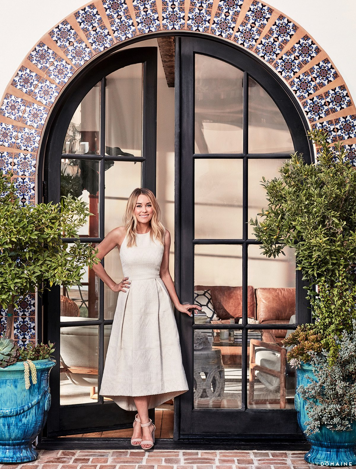 Photo 1 of 24 in Tour Lauren Conrad's Elegant, Light-Filled Home in the Pacific Palisades