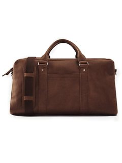 Frank & Oak Italian Leather Weekender ($425)
