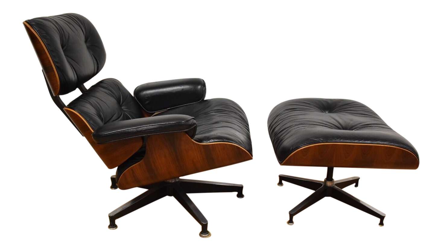 Eames Rosewood Lounge Chair and Ottoman ($4900)  Photo 11 of 30 in Inside Fitness Mogul Lorna Jane's Elegant L.A. Retreat