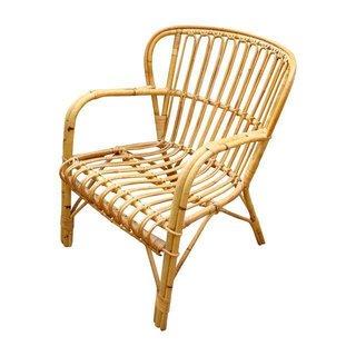 Franco Albini Midcentury Rattan Bentwood Chair ($370)