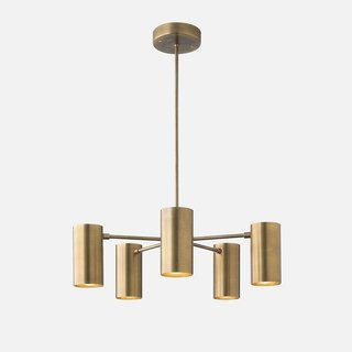 School House Electric Plaza Chandelier ($649)