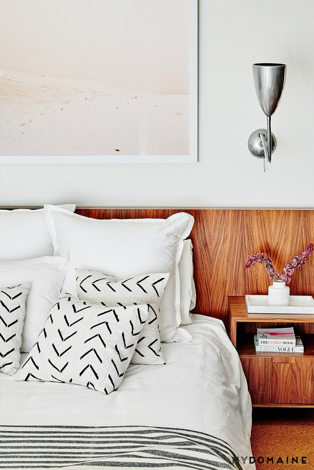 Cover photo by Jenna Peffley for MyDomaine; Styling by Kate Martindale; Design by TwoFold LA  Photo 24 of 30 in Inside Fitness Mogul Lorna Jane's Elegant L.A. Retreat
