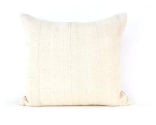 Amber Interiors Ivory Throw Pillow ($185)