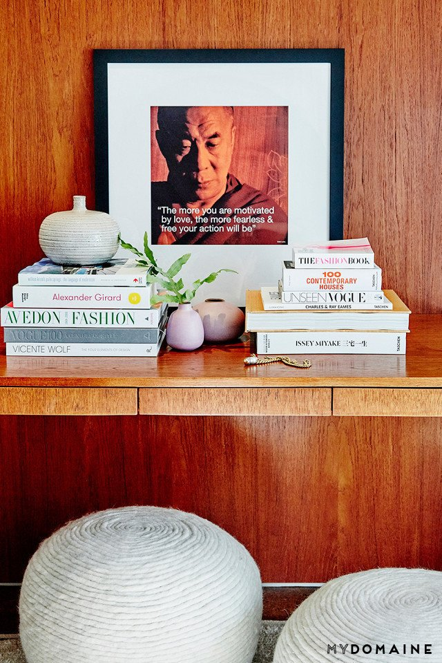 Cover photo by Jenna Peffley for MyDomaine; Styling by Kate Martindale; Design by TwoFold LA  Photo 26 of 30 in Inside Fitness Mogul Lorna Jane's Elegant L.A. Retreat