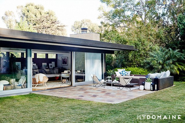 Cover photo by Jenna Peffley for MyDomaine; Styling by Kate Martindale; Design by TwoFold LA  Photo 30 of 30 in Inside Fitness Mogul Lorna Jane's Elegant L.A. Retreat