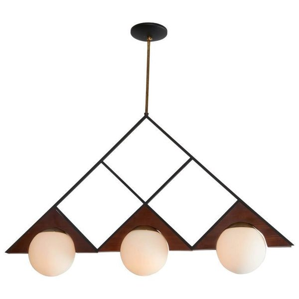 Stilnovo Geometric Pendant (price upon request)  Photo 3 of 15 in The New Shared Workspace We All Want to Move Into