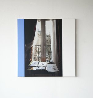 """""""Hotel de Nice, Paris"""" by Ian Wallace (price upon request)"""