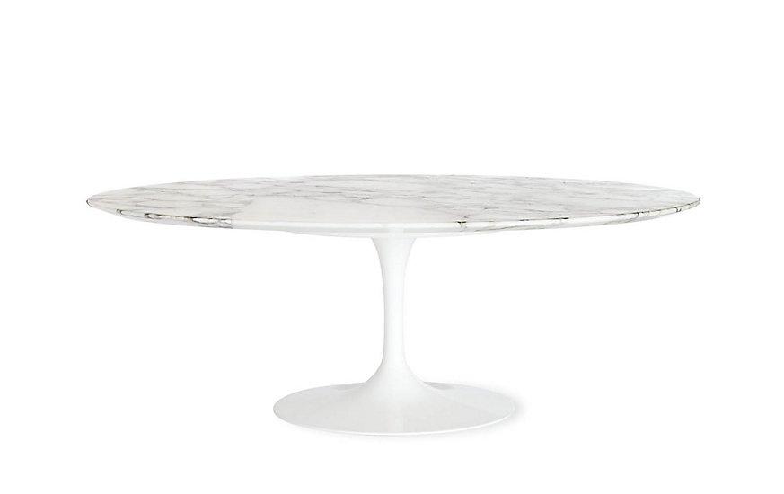 Saarinen Low Oval Coffee Table ($1676)  Photo 11 of 26 in Inside Our Striking MyDomaine Office in Los Angeles