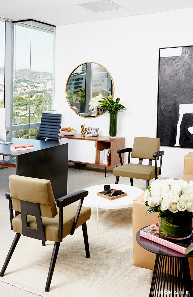 Photo: Chris Patey for MyDomaine; Styling: Wayfair  Photo 18 of 26 in Inside Our Striking MyDomaine Office in Los Angeles