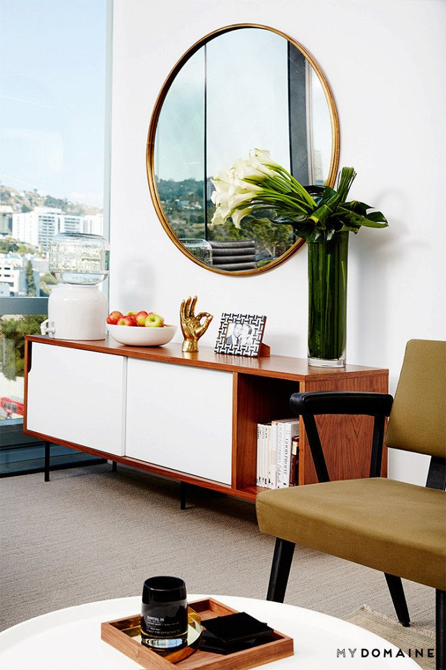 Photo: Chris Patey for MyDomaine; Styling: Wayfair  Photo 22 of 26 in Inside Our Striking MyDomaine Office in Los Angeles