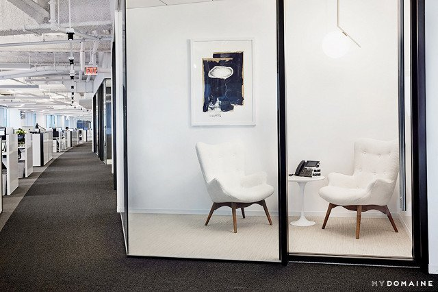 Photo: Chris Patey for MyDomaine; Styling: Wayfair  Photo 24 of 26 in Inside Our Striking MyDomaine Office in Los Angeles