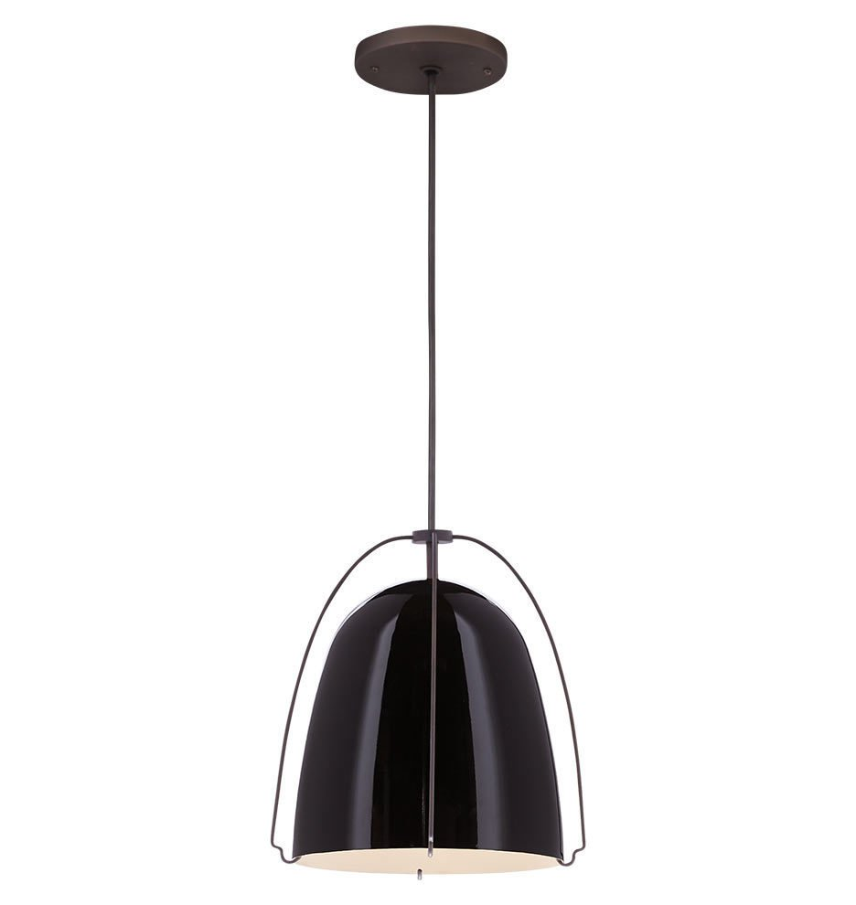 Rejuvenation Haleigh Wire Dome Pendant ($299)  Photo 12 of 22 in The Chicest Kitchens on the Internet This Year