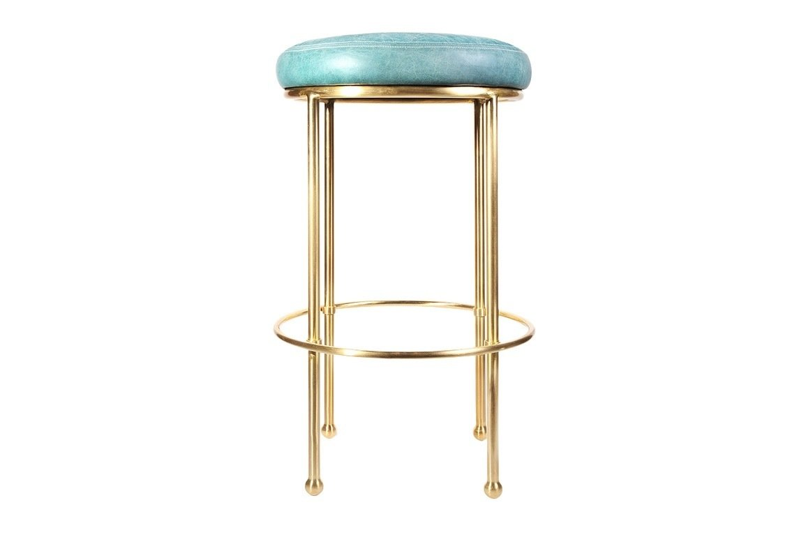 Lawson-Fenning Orsini Barstool ($1325)  Photo 18 of 22 in The Chicest Kitchens on the Internet This Year