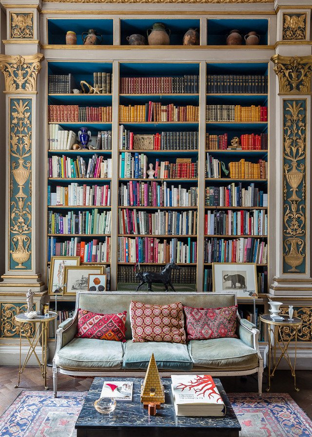 PHOTO: Courtesy of OneFineStay  Photo 17 of 18 in 9 Home Libraries We All Want to Curl Up in This Weekend