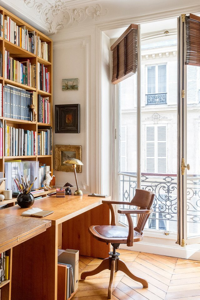 PHOTO: Courtesy of OneFineStay  Photo 13 of 18 in 9 Home Libraries We All Want to Curl Up in This Weekend