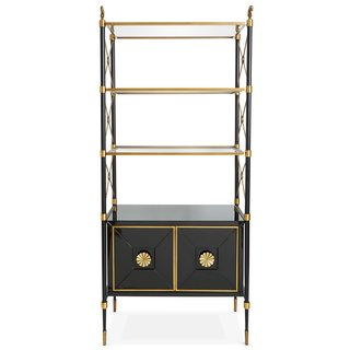 9 Home Libraries We All Want to Curl Up in This Weekend - Photo 4 of 18 - Jonathan Adler Rider Étagère ($2995)