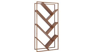 9 Home Libraries We All Want to Curl Up in This Weekend - Photo 10 of 18 - CB2 V Bookcase-Room Divider ($699)