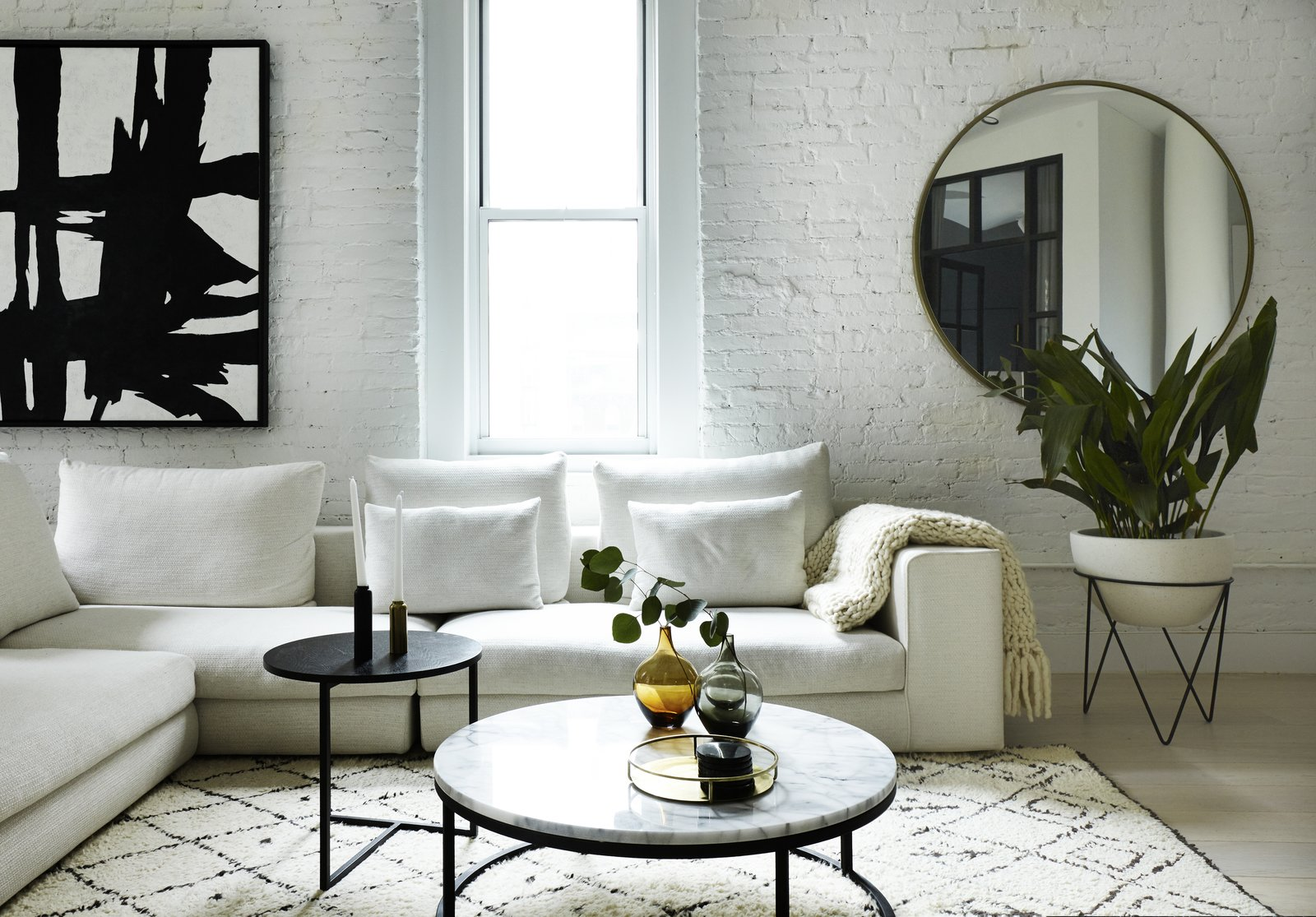 Photo 3 of 19 in Tour an Insanely Stylish NYC Loft With Major Scandinavian Vibes