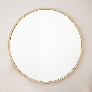 West Elm Metal Framed Oversized Round Mirror ($499)