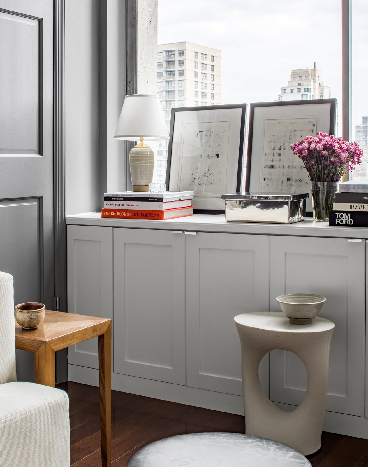 Photo 4 of 7 in This Is How an Interior Designer Transformed Her Manhattan Office—We Want In