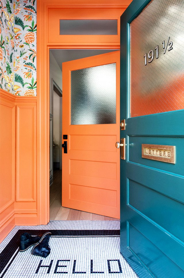 Photo 14 of 23 in What's the Best Color to Paint Your Front Door? Your Guide to Finding The One
