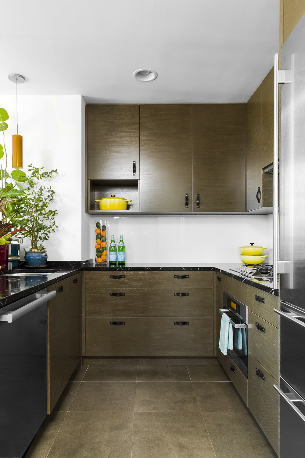 Kitchen and Wood Cabinet  Heavy Metal by James Wagman Architect