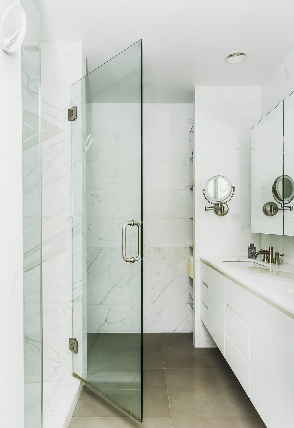Bath Room and Marble Wall  Heavy Metal by James Wagman Architect
